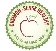 the diet to go ambasador badge