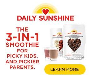 daily sunshine banner