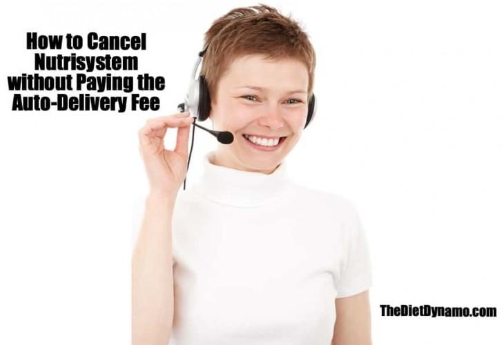how to cancel nutrisystem via customer service