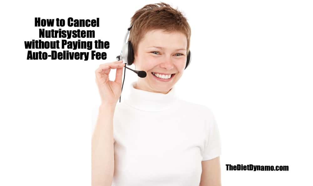 how to cancel nutrisystem via customer service