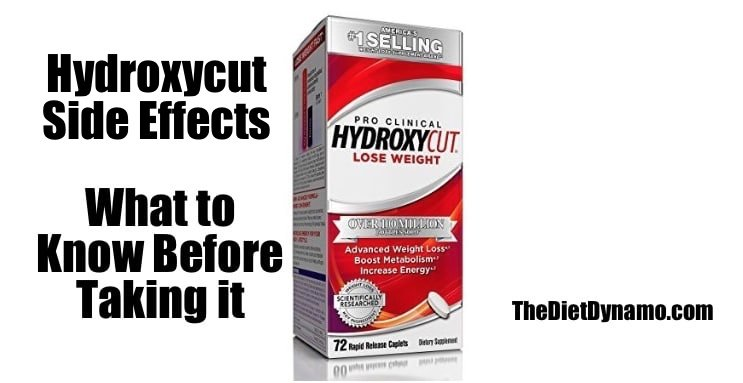 hydroxycut side effects