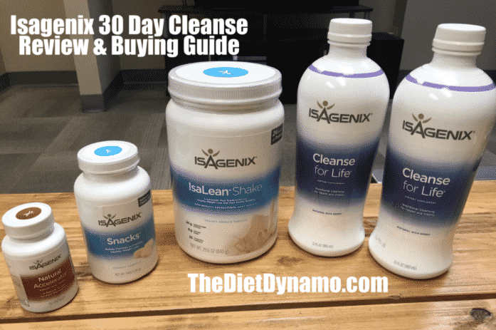 isagenix 30 day cleanse system review and pricing info
