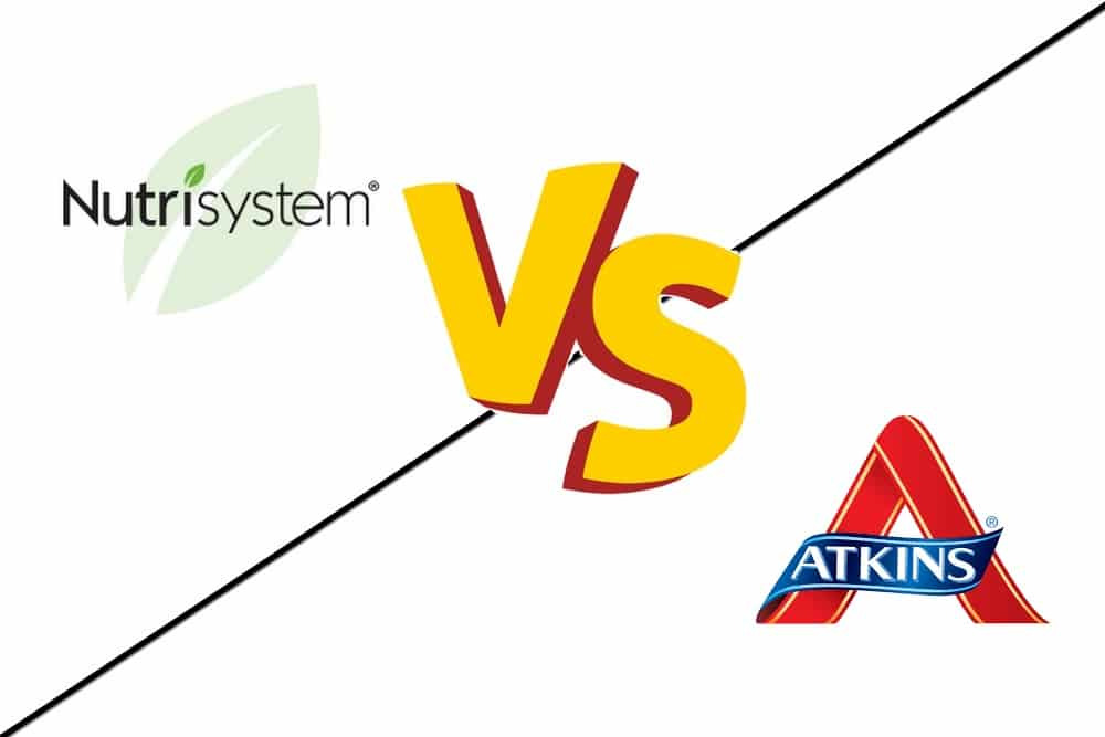 nutrisystem compared to the atkins diet