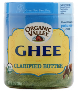 organic ghee from organic valley