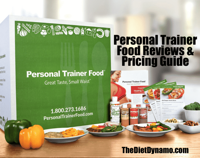 personal trainer food and pricing info