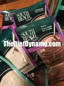 pouches of south beach diet shakes