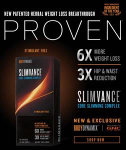 slimvance product label
