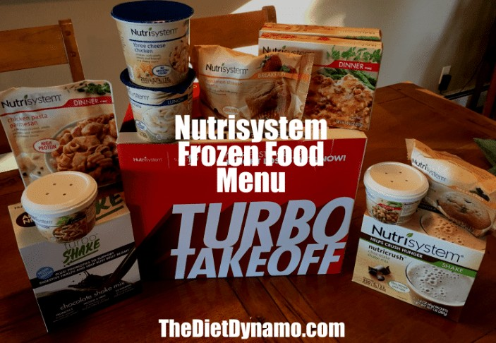the nutrisystem frozen foods