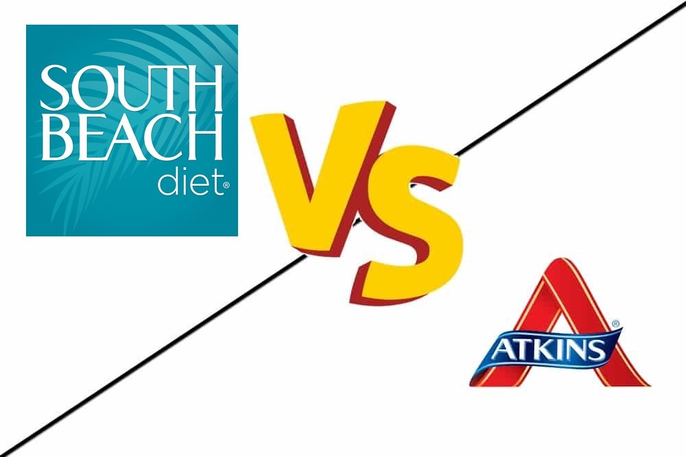 south beach diet vs atkins