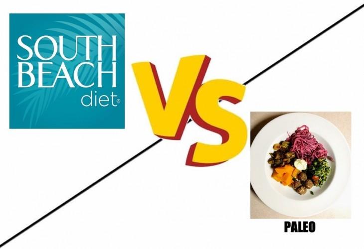 south beach diet vs paleo
