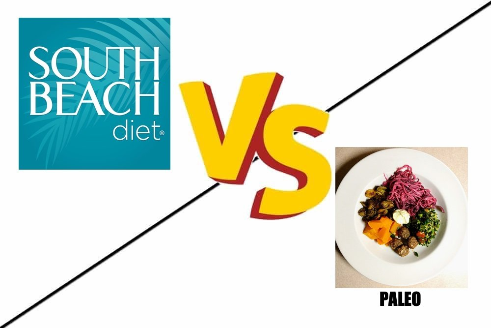 south beach diet vs paleo