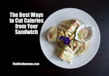 the easiest way to cut calories from sandwiches
