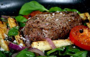 pan roasted steak