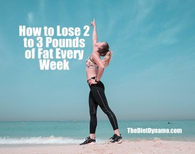 tips for losing 3 pounds every week